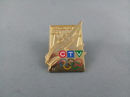 Vancouver 2010 - Winter Olympic Games -  CTV (Broadcaster) - Bodsled Pin  - $19.00