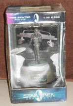 Wrath of khan fine mint pewter sculpture limited numbered nib  1  thumb200