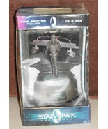 Wrath of Khan Fine Mint Pewter Sculpture Limited Numbered NIB - $29.95