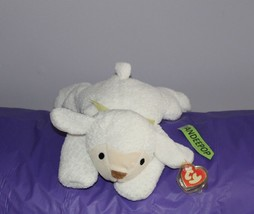 "TY Retired Beanie Buddies Collection 14"" Large Baba Lamb 3008 Beanie Babie - $19.79"
