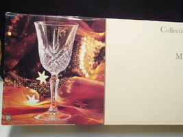 "Box Of 6 New Cristal D'arques ""Masquerade"" Water Goblets~~Have More - $27.99"
