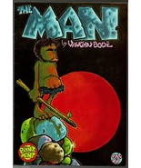 M- The Man, 2nd print, Print Mint 1972,  Vaughn Bode, underground comix, - $17.25