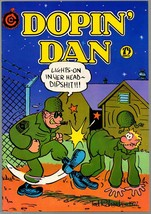 Dopin' Dan 1, SIGNED 3rd print, Ted Richards, 1975, Undreground Comix, - $16.25