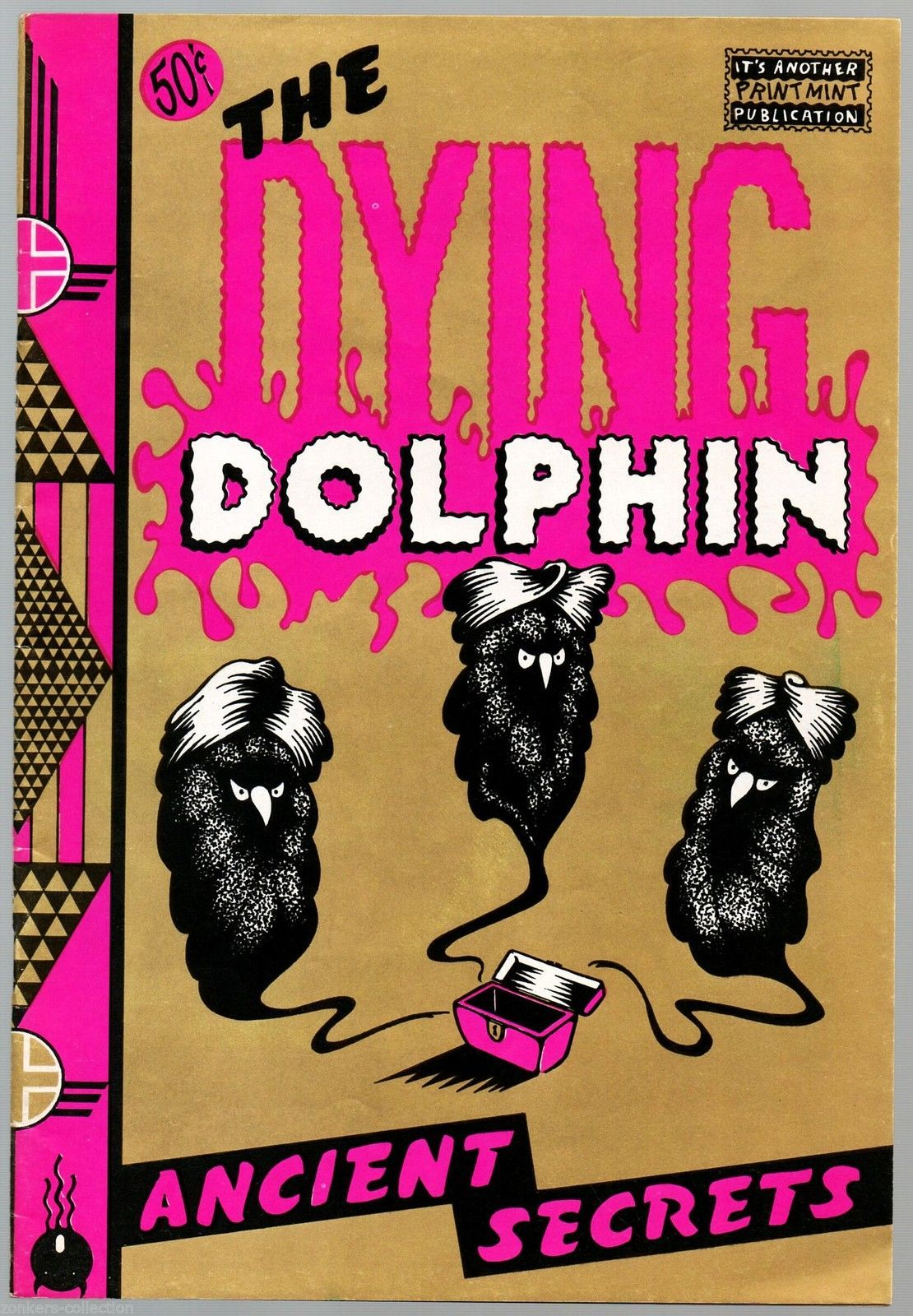 Dying Dolphin, Print Mint 1970, Undreground Comix,