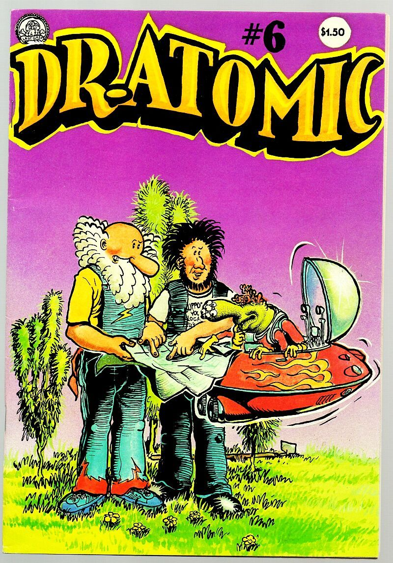 Dr Atomic 6, Larry Todd, Last Gasp, 1981 Classic Undreground Comix