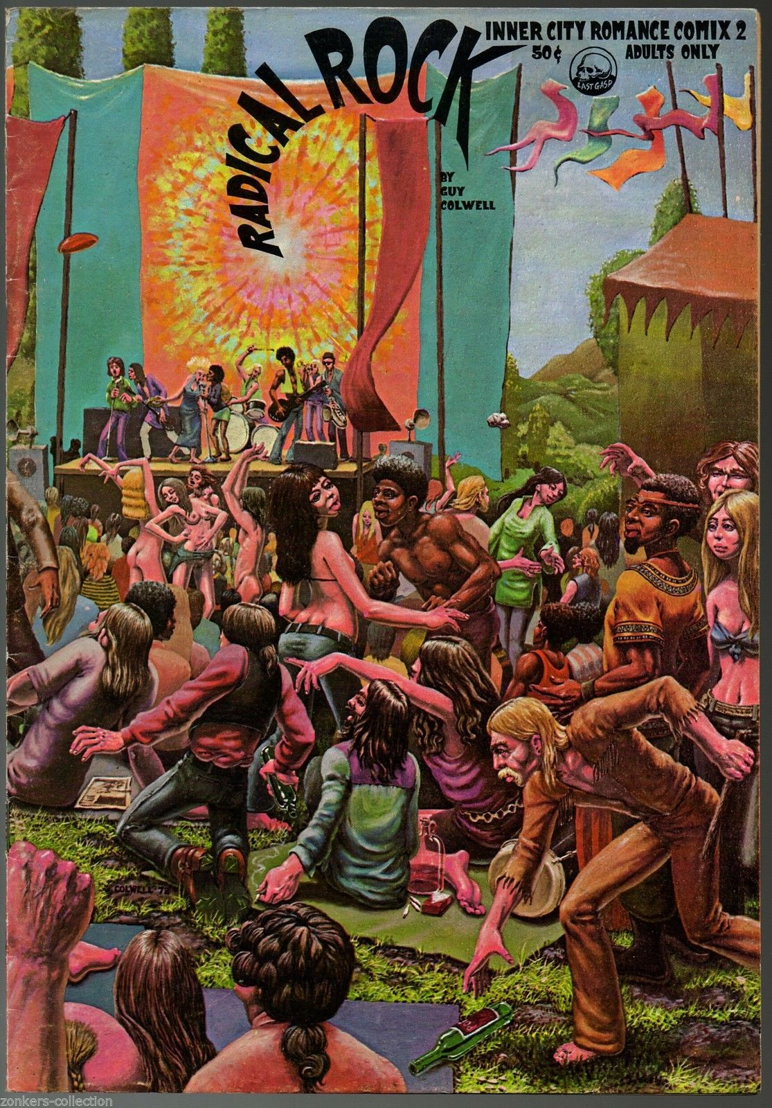 Inner City Romance 2, Last Gasp,1972, underground comix, Guy Colwell