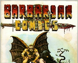 Barbarian #3 California Comics 1974  undergroun... - $14.15
