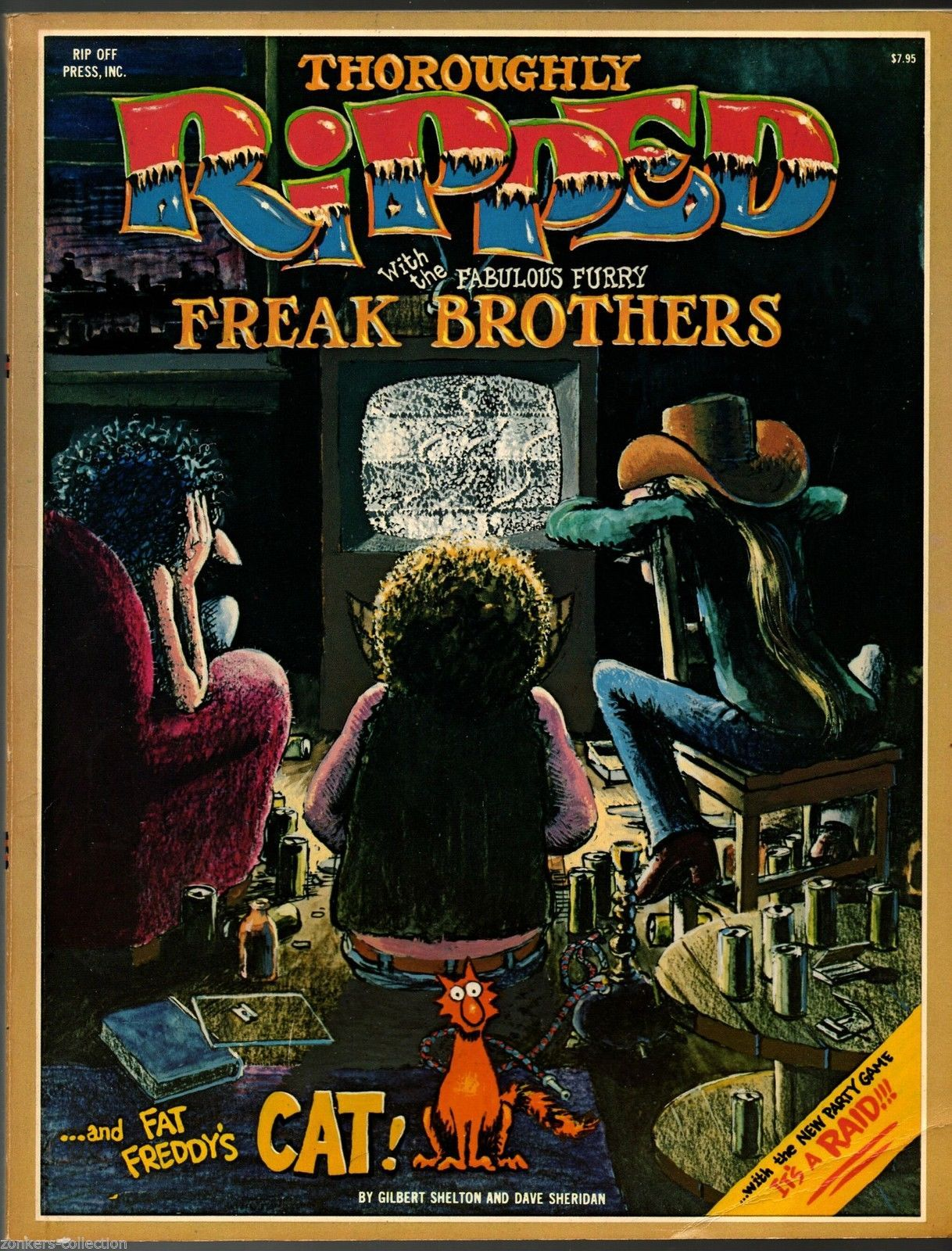 Thoroughly Ripped, Rip Off Press1978 Gilbert Shelton Freak Bro.underground comix