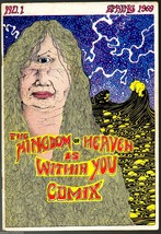 Kingdom o Heaven Within You, Print Mint 1969, John Thompson, underground... - $60.00