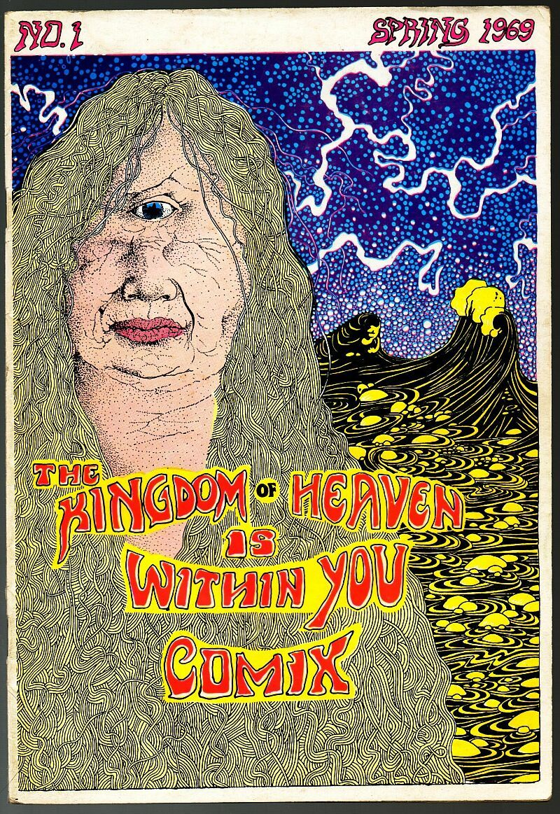 Kingdom o Heaven Within You, Print Mint 1969, John Thompson, underground comix,