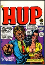 HUP 1 & 2, Last Gasp 1987, Robert Crumb, 2 unde... - $25.90
