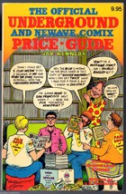 Underground Comix Price Guide, Official, Jay Kennedy 1982, excellent shape - $44.25