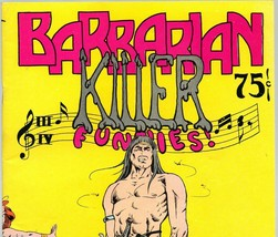 Barbarian Killer 1974  Bud Plant, underground comix, Tom Bird - $9.15