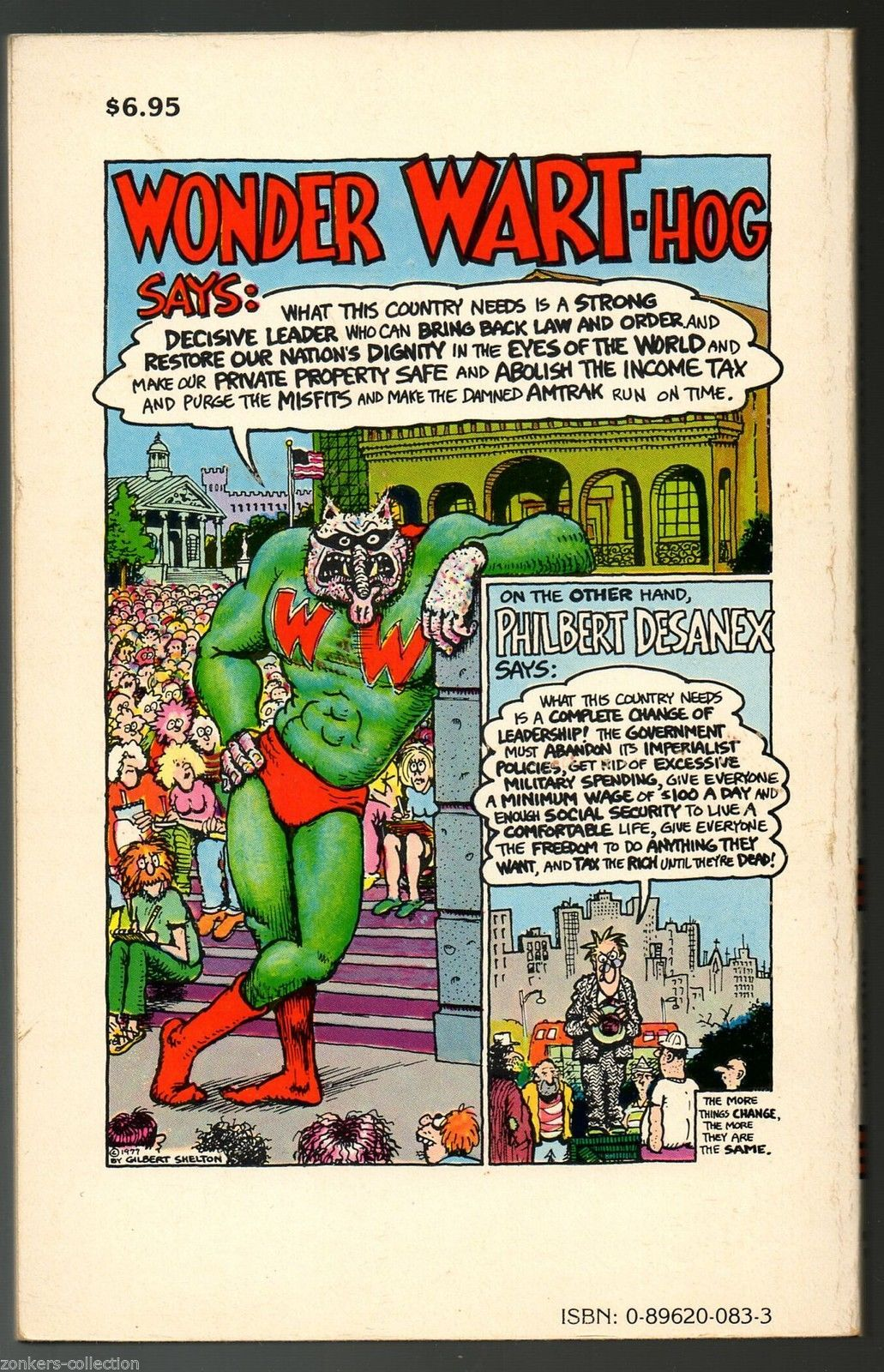 Wonder Warthog Nurds O Nov. Rip Off Press1980 Gilbert Shelton .underground comix