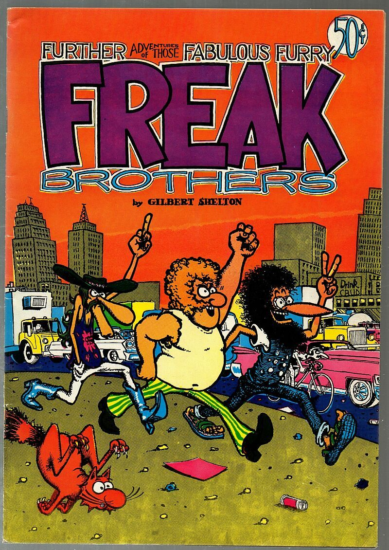 Freak Brothers 2 Rip Off Press 3rd print 1972 Gilbert Shelton