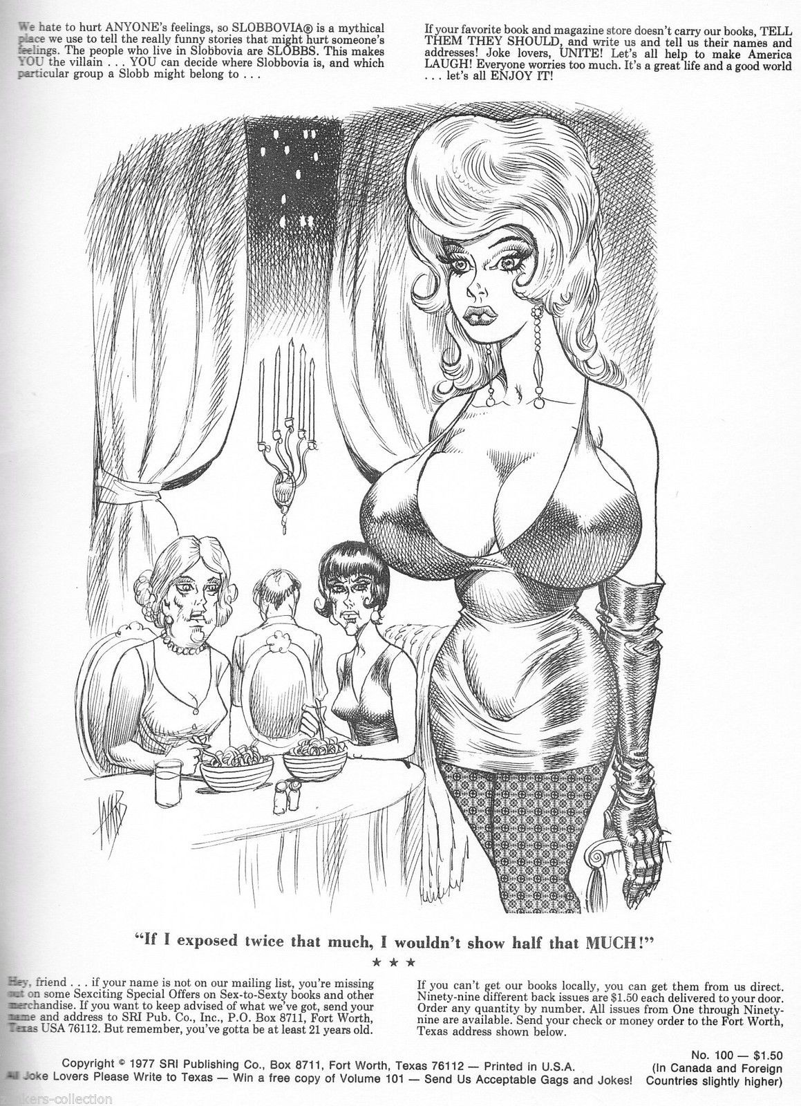 "Sex to Sexty 100 ""Scared Stiff"" Classic Dirty Joke book 1977,Pierre Davis"