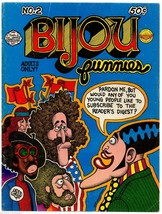 Bijou #2 Kitchen sink 1972, 3rd print, underground comix, Shelton, Lynch... - $16.25