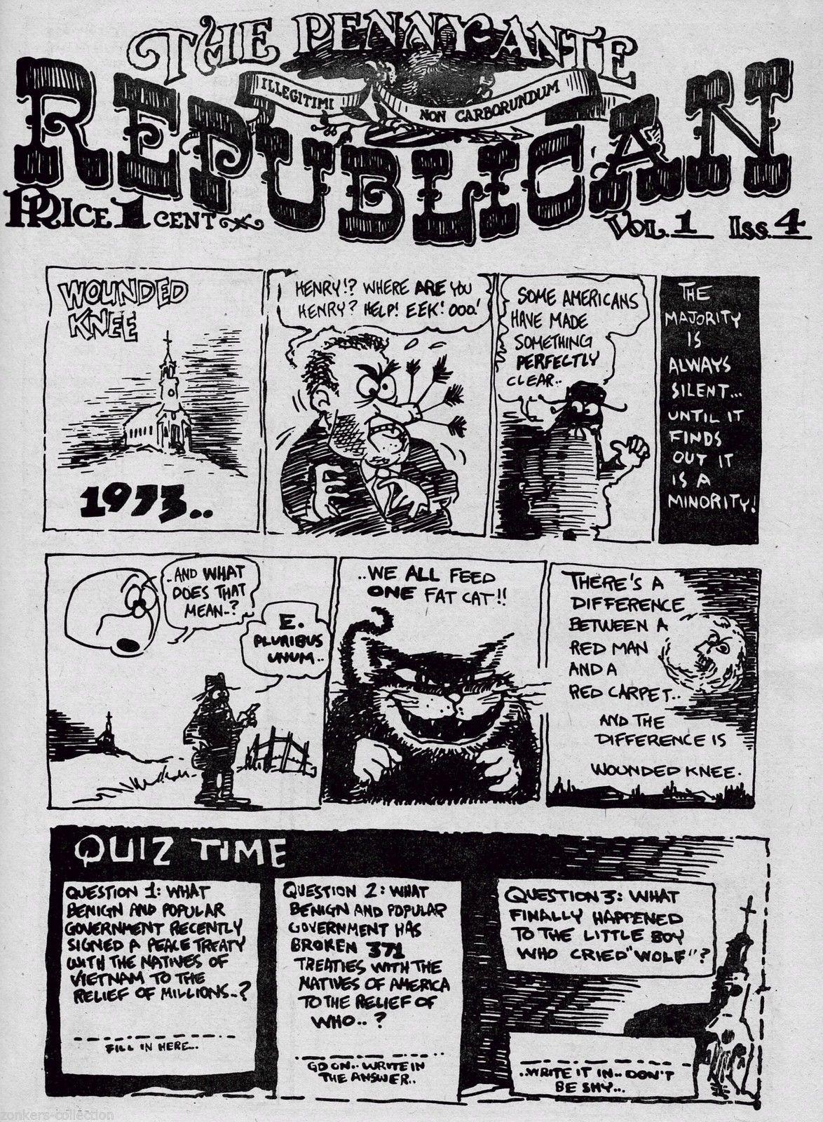 Dan O'Neill's Comics & Stories v2 #1, Hell, 1976 - Disney vs. Air Pirates,  MLF