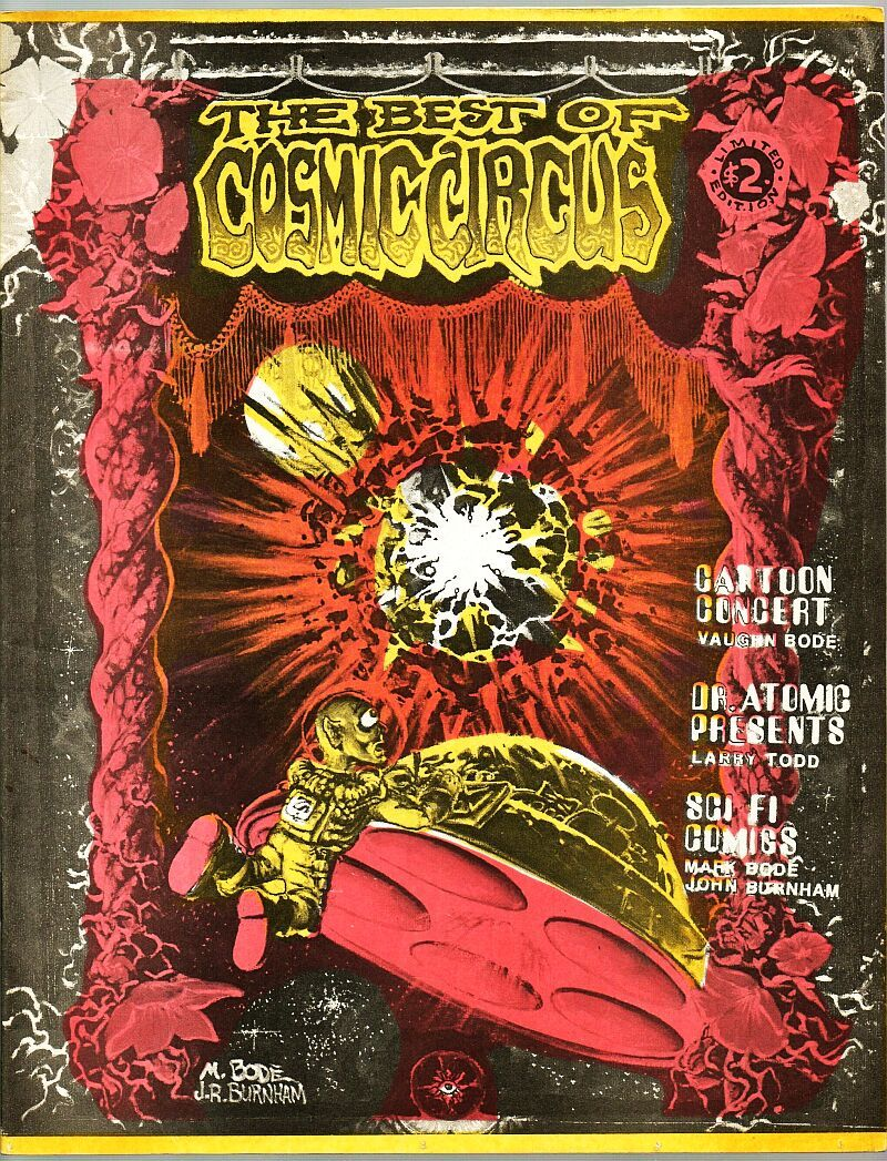 Best of Cosmic Circus 1978 Vaughn Bode, Larry Todd, John Burnham, Mark somebode?