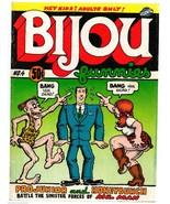 Bijou #4, Print Mint 1970, 1st print, underground comix, Jay Lynch, Robe... - $22.25