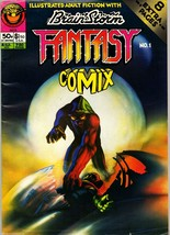 Brainstorm 5, Summer 1977, aka Fantasy Comix 1, (British)  v2 #1, Bryan ... - $9.90