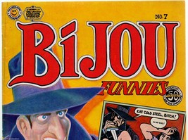 Bijou #7 Kitchen sink 1972, 2nd print, underground comix, Lynch, Crumb, ... - $11.25