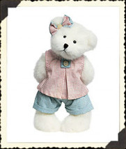 "Boyds Bears ""April Mae""- 10"" Plush Bear - #917445 - NWT- 2002- Retired - $26.99"