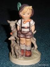 Little Goat Herder Goebel Hummel Figurine #200/0 TMK5 - CUTE COLLECTIBLE... - $54.55