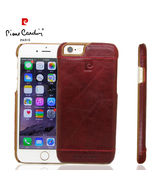 iPhone 6 Luxury Genuine Leather Hard Back Case Cover Brown - $26.34