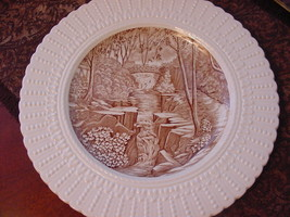 "Royal Cauldon England Jesmond Dene Newcastle-on-Tyne Plate, 9 3/4"", brow... - $12.00"