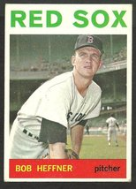 1964 Topps Baseball Card # 79 Boston Red Sox Bob Heffner ex - $1.50