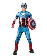 R620021 (8-10) Captain America Child Muscle - $37.88