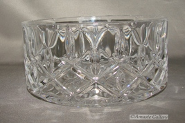 Waterford Bowl-Nut- Candy Dish- 5 inch Diameter Round - Perfect - $39.99