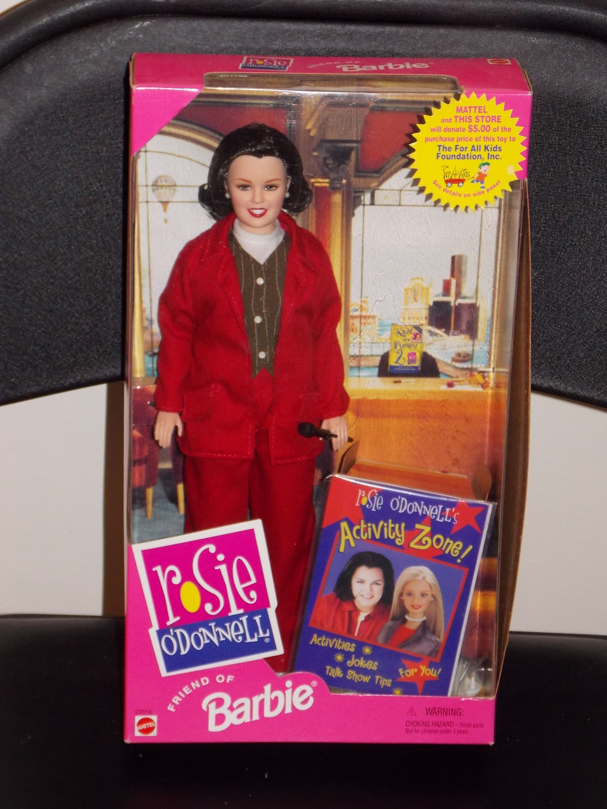 Primary image for 1999 Rosie ODonnell Barbie Doll New In The Box
