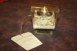 Lenox Silver Plated Hinged Fortune Cookie w/ Box - $11.99