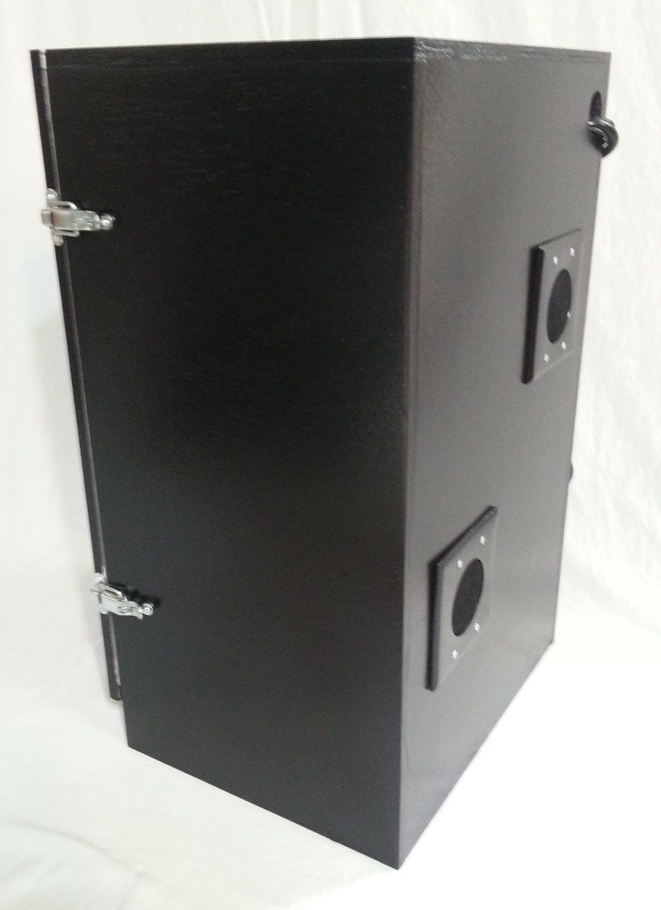 2 Ft Tall 4 Plant Hydroponic Grow Cabinet System Stealth