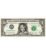MARILYN MONROE on REAL Dollar Bill - Collectible Celebrity Custom Cash M... - £2.40 GBP