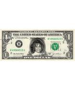 WHITNEY HOUSTON on REAL Dollar Bill Spendable Cash Celebrity Money Mint - €2,88 EUR