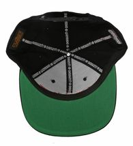 Dissizit Straight Crack Yupoong Wool Blend O/S Cap Black Red Embroidered Hat NWT image 8