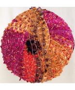 KARABELLA NEW MAGIC - WORSTED WT  EYELASH YARN - MULTICOLOR #9 PINK/BROW... - £5.93 GBP
