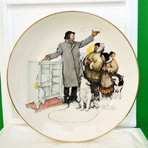 1980 Gorham Large Collector Plate, Norman Rockw... - $12.95