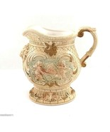 Ceramic 5.5-in Antique Look Pitcher with Cherubs and Lions Head Hi-Relief - $7.95