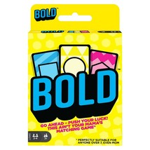 Mattel Card Game Bold To win the BOLD card game you need memory - $9.89