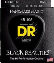 Dr Strings BKB-45 Schwarz Beschichtete Bass Saiten,Beauties Extra Life G... - $58.72