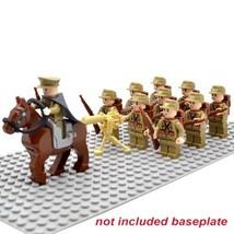 10 PCS/Set WW 2 JAPAN Army Military Minifigure Bricks Building Blocks To... - $18.45