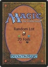 Random Lot of 20 Foil Magic The Gathering Cards - $14.99
