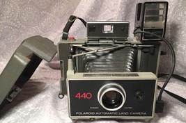 Z1 Polaroid 440 Instant Film Folding Land Camera / Untested - $44.15