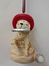 Firefighter Ornament (Firehose Dog) - $15.00