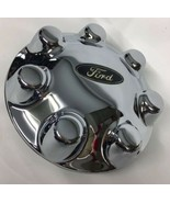 ✅ 1997-2004 OEM F150 F250 Heritage 7 Lug CHROME Wheel Center Cap F75A-1A096 - $116.88