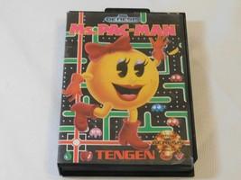 Ms.Pac-Man (Sega Genesis, 1991) 1-2 Lecteurs Action Aventure Vidéo Jeu - $18.70